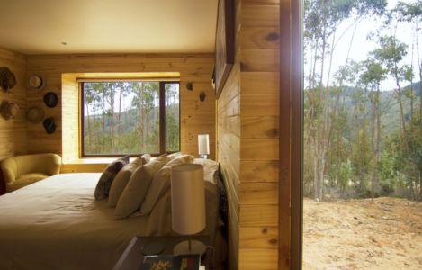 chambre - Casa Tunquén par CO2 Arquitectos - Vaparaiso, Chili