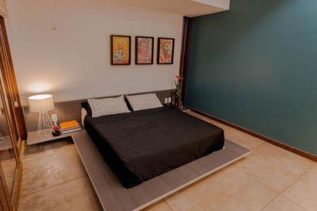 chambre - Casa do Arquiteto par Jirau Arquitetura - Pernambuco, Brésil
