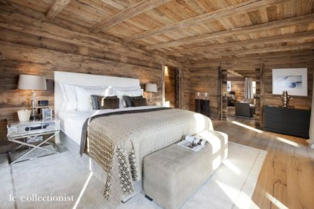 chambre - Chalet Carl à louer à Oberlech en Autriche - Le Collectionist