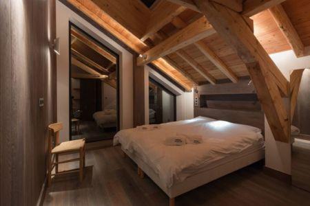 chambre - Chalet-Dag par Chevalier Architectes - France