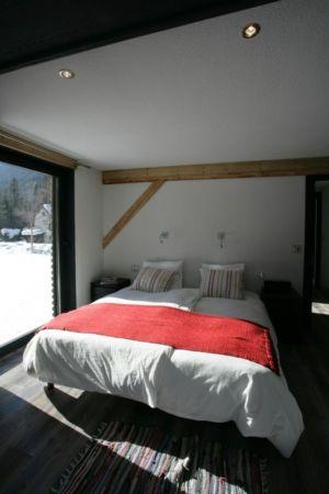 chambre - Chalet Piolet par Chevallier Architectes - Chamonix, France