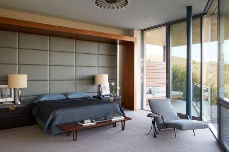 chambre - Chatauqua Residence par Studio William Hefner - Californie, Usa