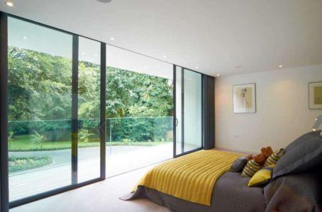 chambre - Cherry Orchard par Western Design Architects - Branksome, Royaume Uni