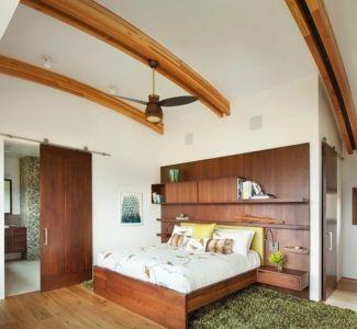 chambre - Contemporary Western par Hoyt Architects & CTA Group - Usa