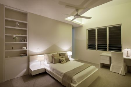 chambre - Coolum Bays House par Aboda Design Group - Coolum Beach, Australie - photo Paul Smith