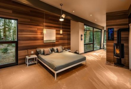chambre - Flight House in Martis Camp par Sage Architecture - Truckee, Usa