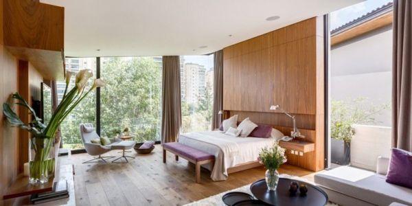 chambre - Garden house par VGZ Architecture - Mexico, Mexique