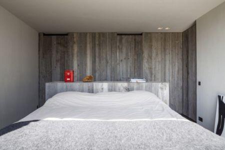 chambre - Graafjansdijk-House par Govaert & Vanhoutte Architects - Belgique