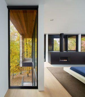 chambre - Hills-House par Robert M. Gurney - Maryland, USA
