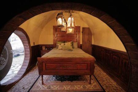 chambre - Hobbit-Village par Kristie Wolfe - Chelan, USA