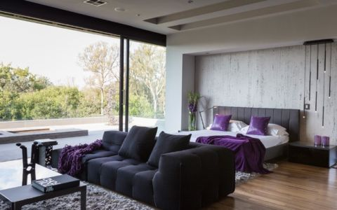 chambre - House Blair Atholl par Nico van der Meulen Architects - Blair Atholl, Afrique du Sud