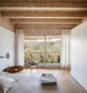 chambre - House LLP par Alventosa Morell Arquitectes - Collserola, Espagne
