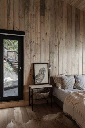 chambre - House-Todos-Los-Santos par Apio Arquitectos - Puerto Montt, Chili