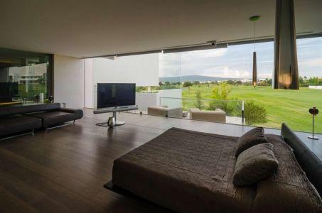 chambre - JRB House par Reims Arquitectura - Santa Domingo, Mexique