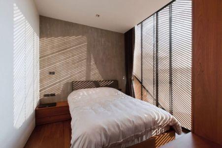 chambre - KA-House par IDIN Architects - Pak Chong, Thaïlande