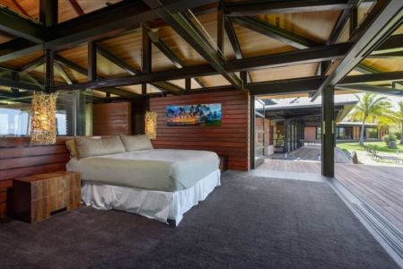 chambre - Kapalua-Home par Olson Kundig Kaprzycki Designs - Hawaï, USA