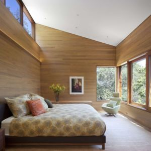 chambre - Kentfield Residence par Turnbull Griffin Haesloop Architects - Kentfield, Usa
