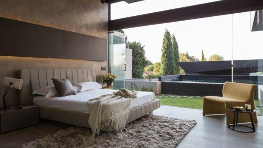 chambre - Kloof-Road-House par Nico van der Meulen Architects - Johannesburg, Afrique du Sud
