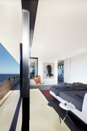 chambre - Lamble Residence par Smart Design Studio - New South Wales, Australie