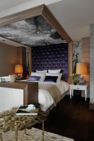 chambre - Luxury Chalet par Jean-Marc et Anne-Sophie Mouchet - Courchevel, France