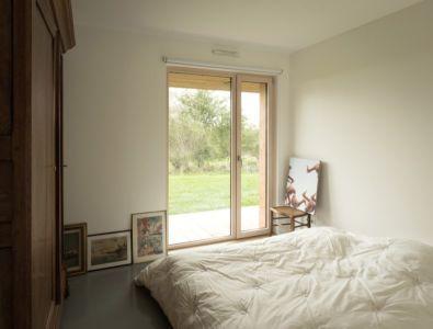 chambre - Maison Simon par Bonnefous architectes - Vezet (70), France