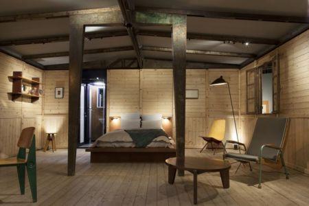 chambre - Maison démontable Jean_Prouve_6x6 par RSHP