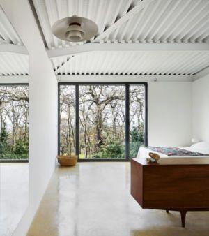 chambre - Maison et atelier d'artiste par Miba architects - Gijón, Espagne