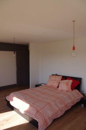 chambre - Maison l'Estelle par François Primault architecte - Moirax, France