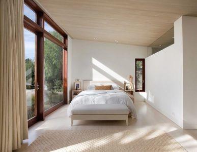 chambre - Malibu House par Dutton Architects - Usa