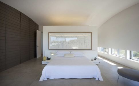 chambre - Mosman house par Popov Bass Architects - Sydney,Australie - photo Kraig Carlstrom