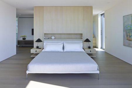 chambre - Orchard House par Stelle Lomont Rouhani Architects - Sagaponack, Usa