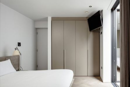 chambre - Percy lane luxury homes par Odos architects - Dublin Irlande.jpg