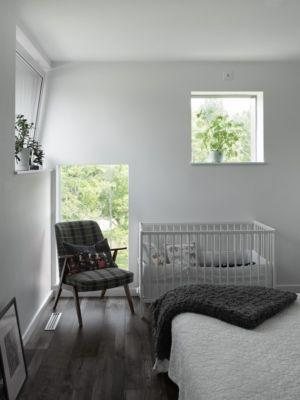 chambre - PlayHouse par  Street Monkey Architects + Bjerking - Värmdö, Suède