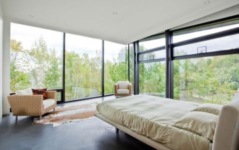 chambre - Port Hope House par Teeple Architects - Ontario, Canada