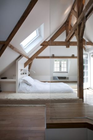chambre - Rénovation Maison V - Olivier Chabaud Architecte - France