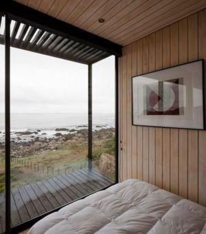 chambre - Remote-House par Felipe Assadi - Pichicuy, Chili