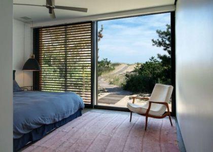 chambre - Shore House par Stelle Lomont Rouhani Architects -  Amagansett, Usa