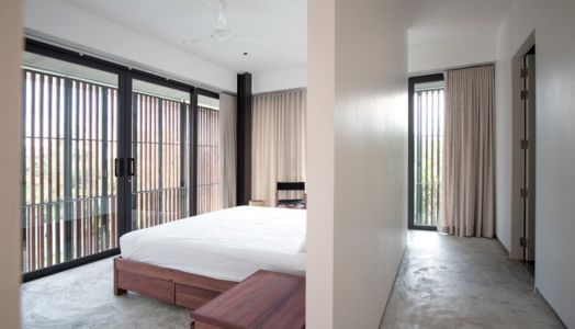 chambre - Swiss family house par Architectkidd - Bang Saray, Thaïlande