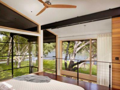 chambre - The Hog Pen Creek Residence par LakeFlato - Austin, Usa