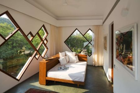 chambre - Tomoe Villas par Note Design - ALibag, Inde