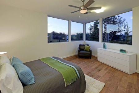 chambre - Unique Reclaimed Modern par Dwell Development LLC - Seattle, Usa