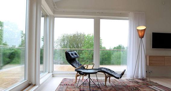 chambre - Villa E par Stringdahl Design - Suède