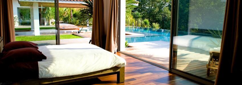 chambre - Villa Hermitage - Arbonne, France