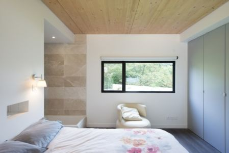 chambre - War house par A+B architectes - Montmorency, France