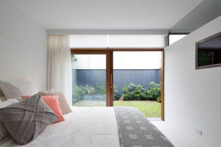 chambre & accès jardin privé - Queenscliff-Design par Watershed Design - Sydney, Australie