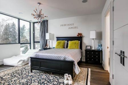 chambre ado - Ashley Park House par Barroso Homes - Toronto, Canada
