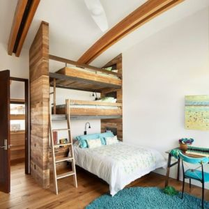 chambre ado - Contemporary Western par Hoyt Architects & CTA Group - Usa