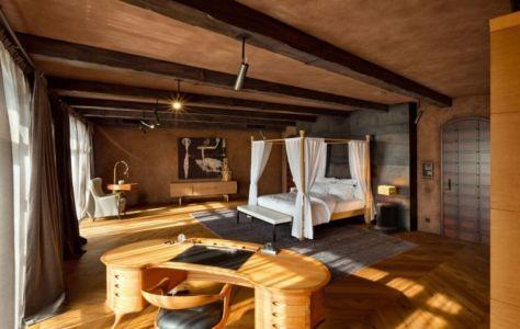 chambre & bureau - Residence-BO par Baraban+design studio - Kiev, Ukraine