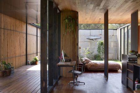 chambre & bureau - Sawmill-House par Archier - Yackandandah, Australie