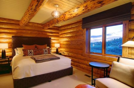 chambre - chalet contemporain Thunderhead, Colorado, Usa